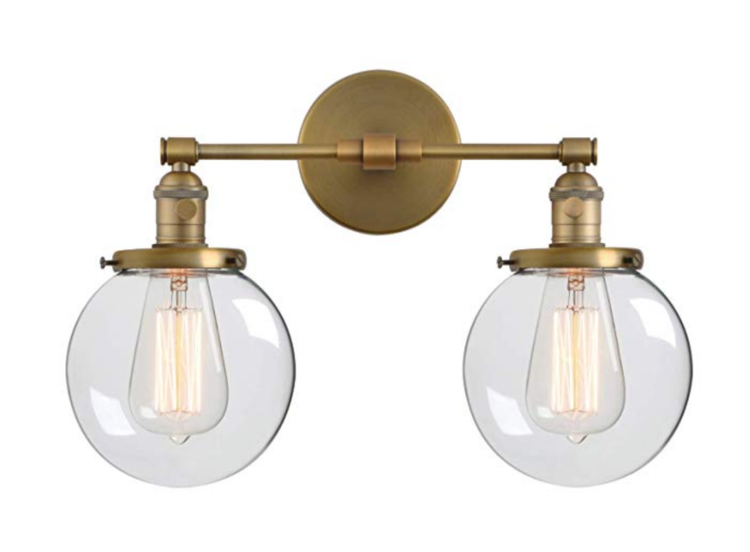 The Best Light Fixtures To Match Delta Champagne Bronze Trubuild Construction Bronze Light Fixture Wall Lights Industrial Wall Lamp