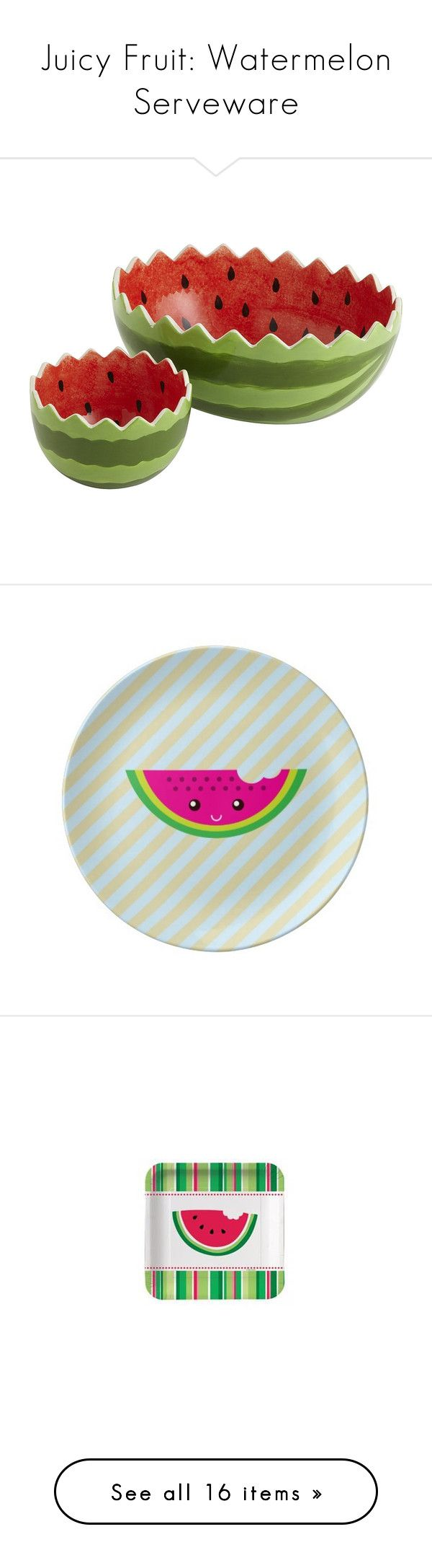 Home interior fruit plates juicy fruit watermelon serveware