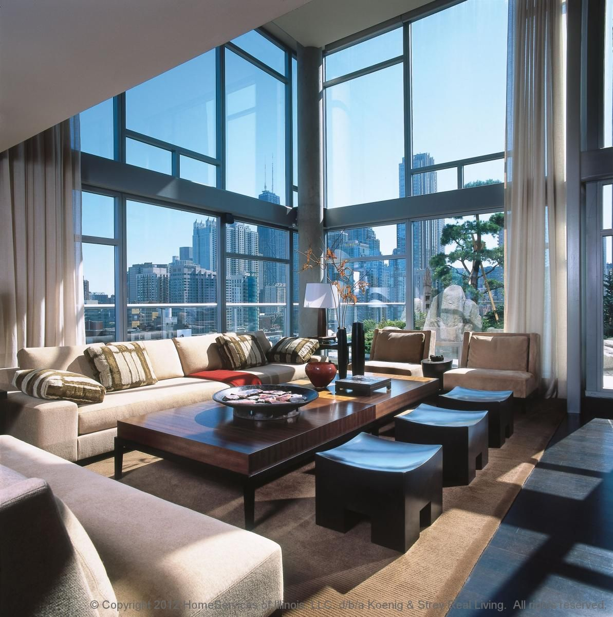 The sleek and sophisticated coppin penthouse overlooking melbourne - Appartement duplex winder gibson architecte ...