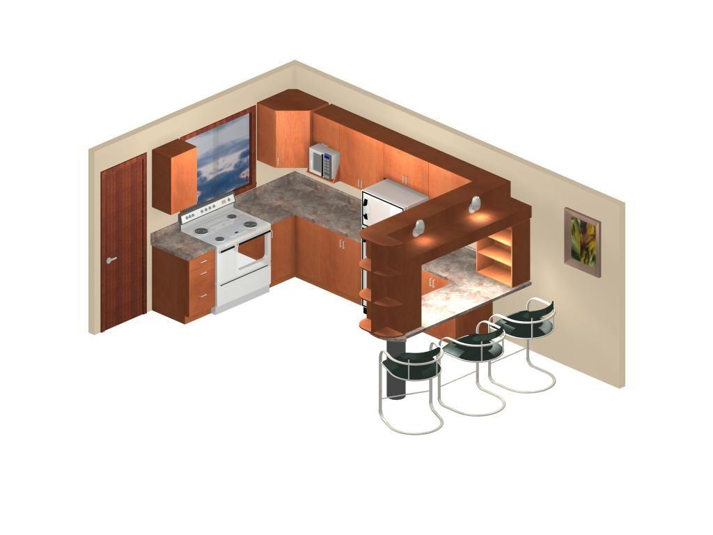 Dise o de cocina y mini bar ponte en contacto con for Diseno interior cocina