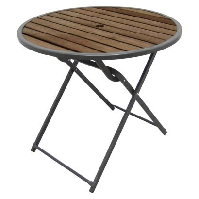 84 Threshold Bryant 32 Folding Bistro Table Target