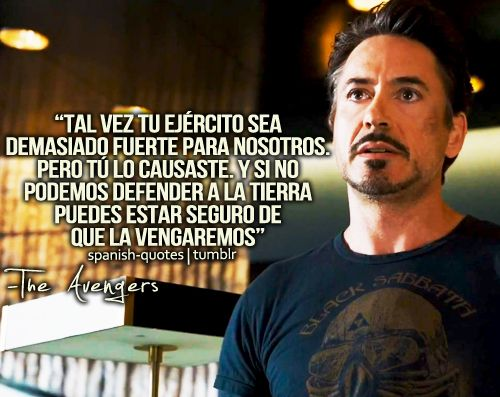 Theavengers Losvengadores Marvel Quotes Frases