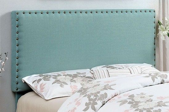 Brooke Blue Upholstered Headboard Starting At Just 158