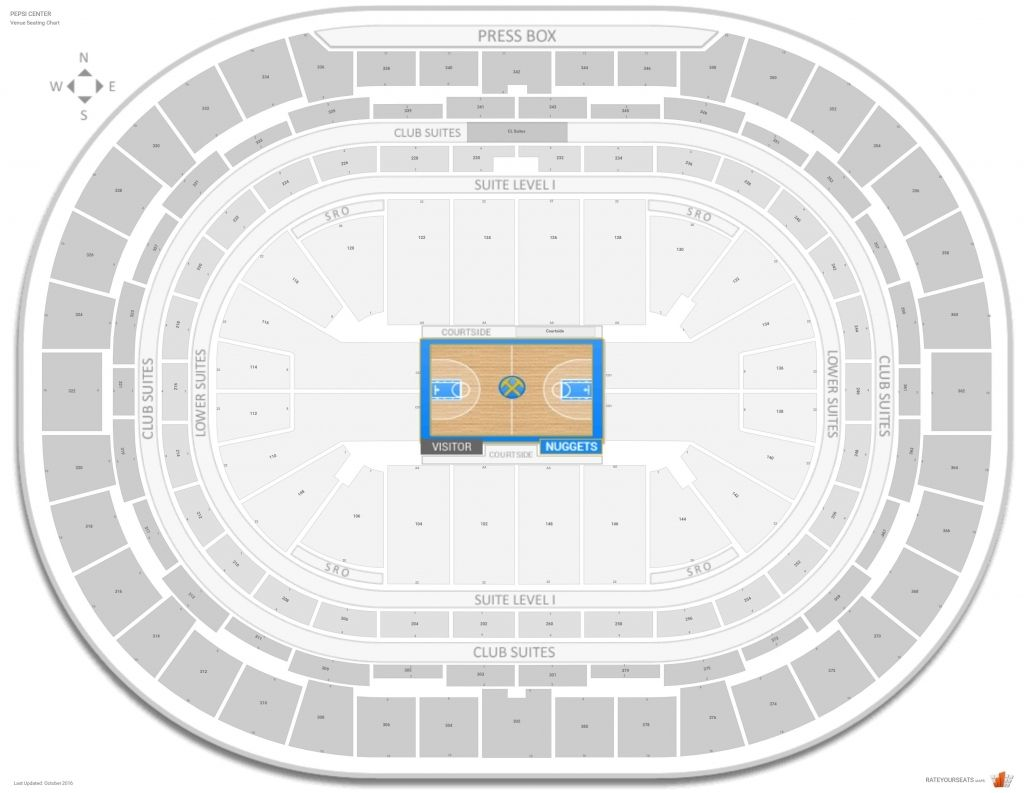 Pepsi Center Seating Chart In 2020 Seating Charts Pepsi Center Chart Design