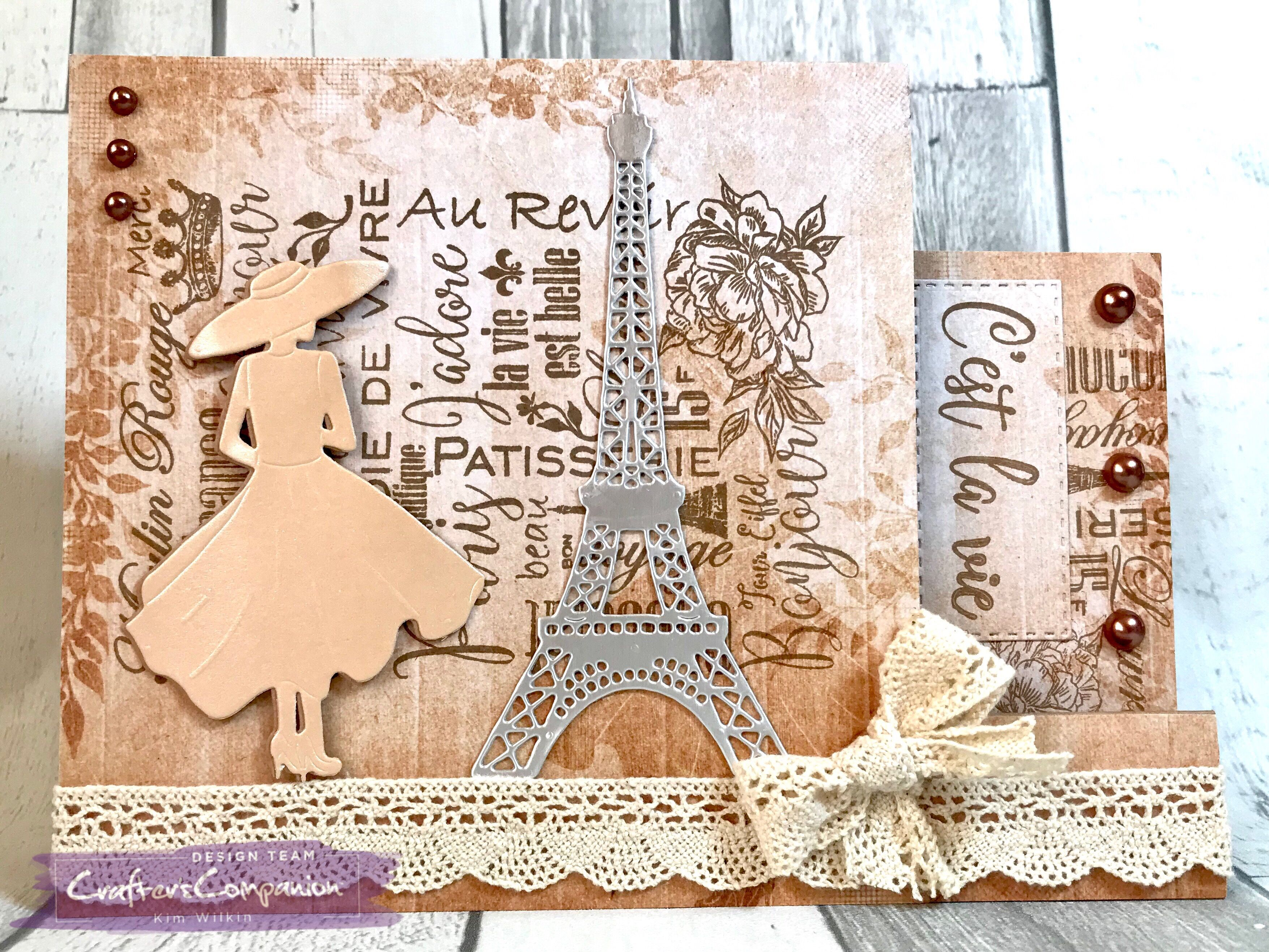 Metal Die Roseraie Sara Davies Parisian Signature Craft Collection