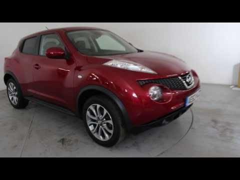 NISSAN JUKE 1.6 TEKNA - Air Conditioning - Alloy Wheels - Bluetooth - Cruise Control - Full Leather Interior - Spare Key - SD Card - Parking Sensors - Reverse ...