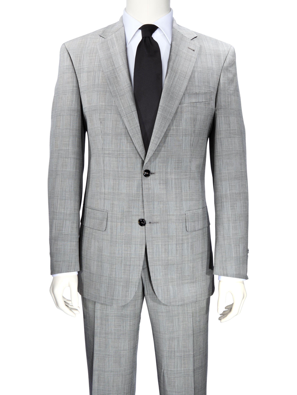 8fa749084daa Noch ein neuer Bewohner meines Kleiderschranks Mario Barutti Topmodischer  Glencheck-Anzug SCHWARZ WEISS