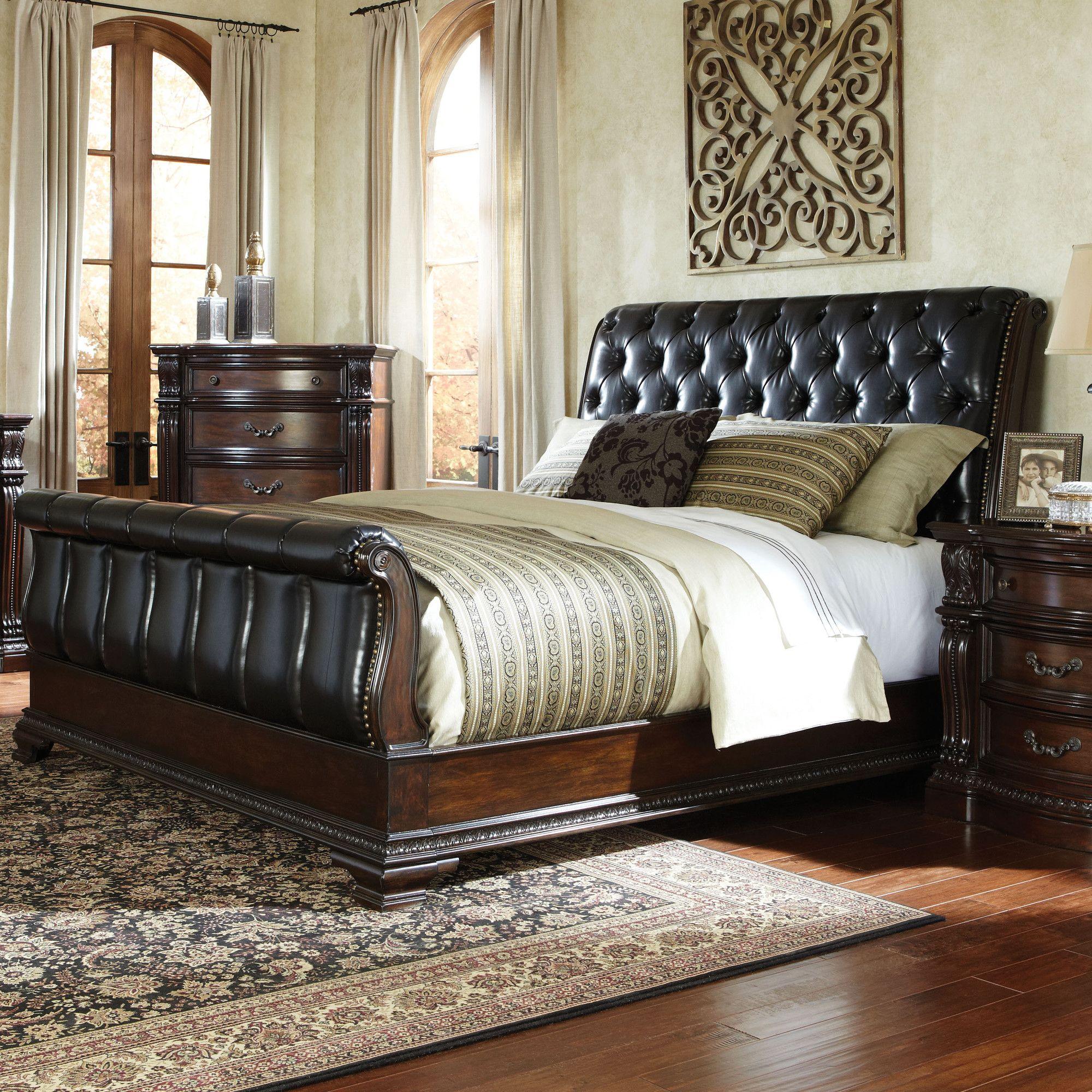 Standard Furniture Churchill Sleigh Bed Wayfair