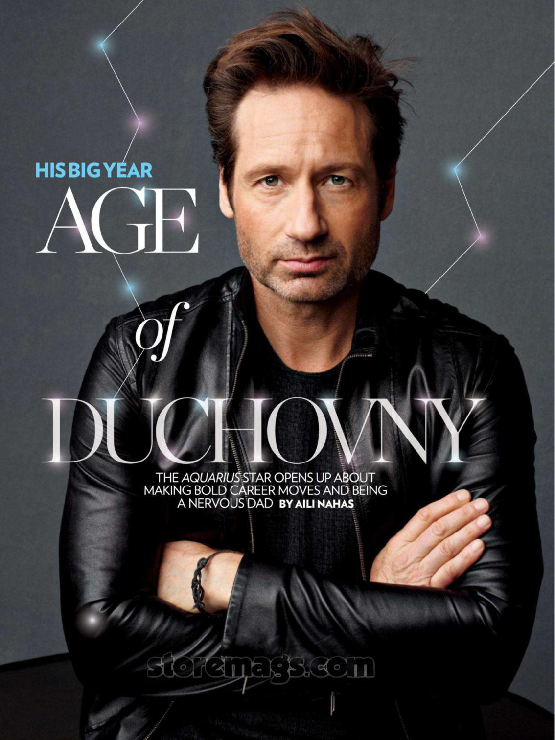 David Duchovny New Show
