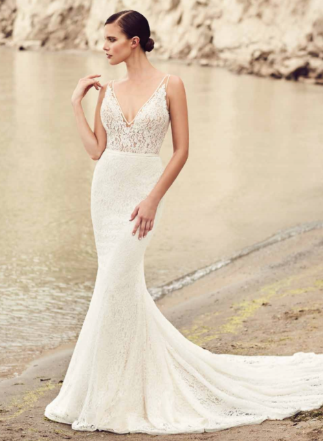 MIKAELLA BY PALOMA BLANCA // ONE & ONLY BRIDAL | bridalsales | Pinterest