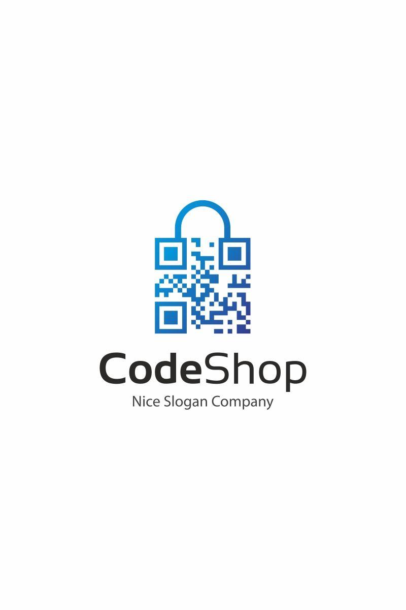 Code Shop Logo Template Qr Codes Logos And Shop Logo