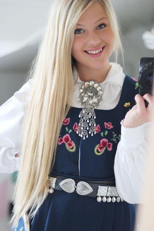 Erica Kvam A Bunad Of Norway Norwegian Clothing