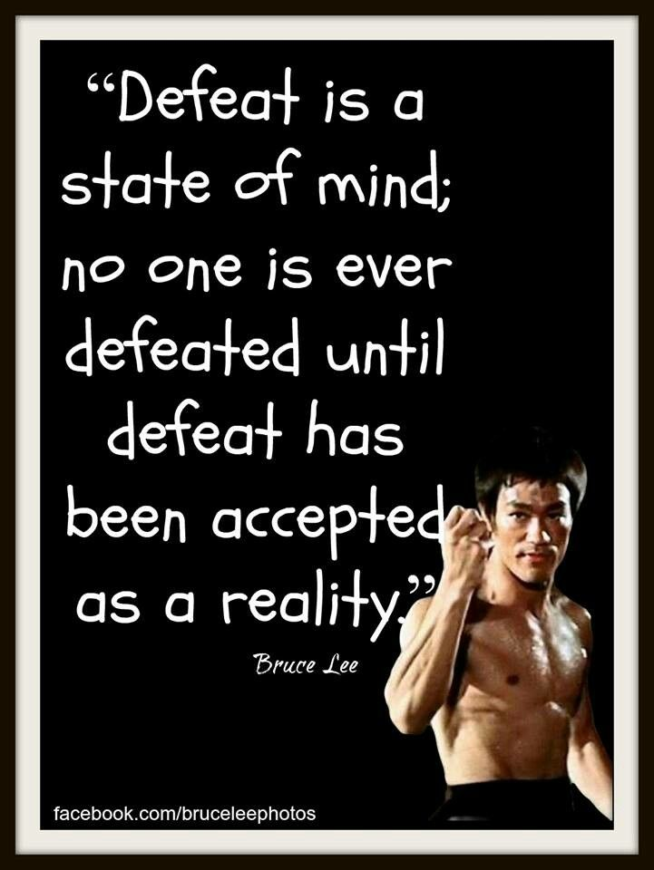 A State Of Mind Sifu Bruce Lee Quotes Bruce Lee Family Life Quotes
