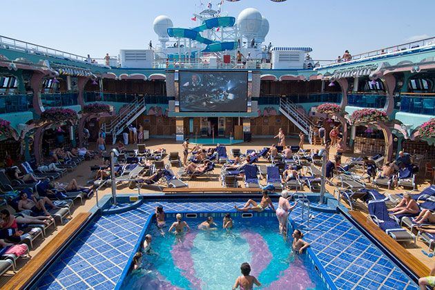 Pool Deck On Carnival Splendor Photo Carnival Cruise Line Flickr Mexico Cruise Carnival Splendor