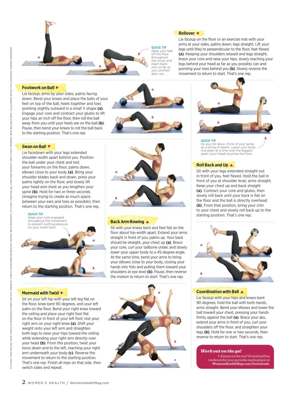 Flat-Ab Pilates page2 | Fitness and Health | Pinterest ...