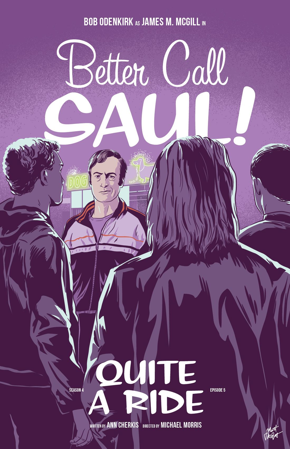 50 better call saul episode posters by