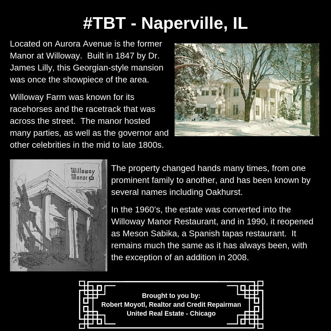 Tbt Spotlight On Naperville Il Tag Someone You Know That Needs This Information Unitedrealestatechicago Re
