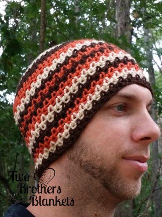 Jagged Edges Mens Beanie Pattern Beanie Pinterest Crochet