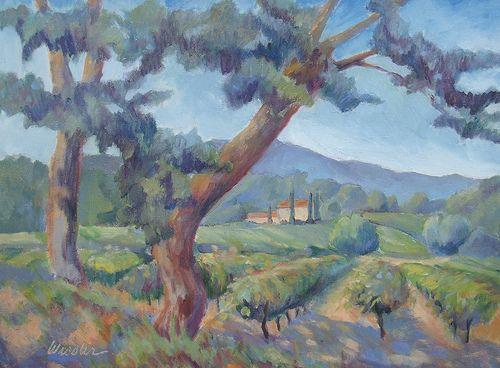 Gedc0002 aix en provence painting provence - Piscine plein air aix en provence ...