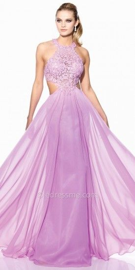 283efd7676bd7 Tony Bowls Le Gala Halter Lace Bodice Prom Gown | beautiful dresses