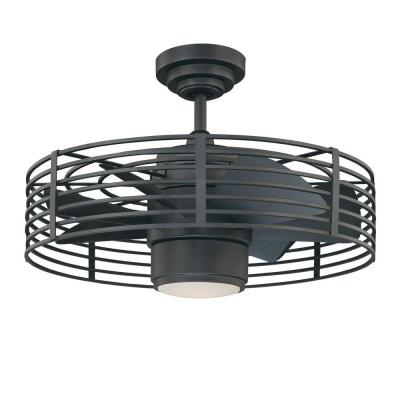 Ceiling fan - Designers Choice Collection Enclave 23 In. Natural Iron Ceiling