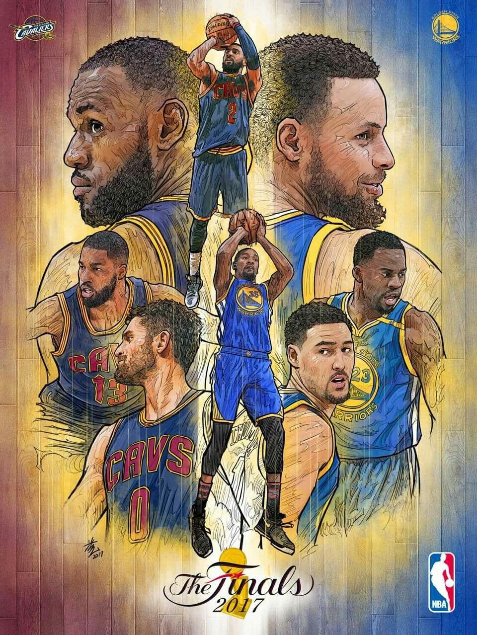 2017 Nba Finals Nba Basketball Art Best Nba Players Nba Art