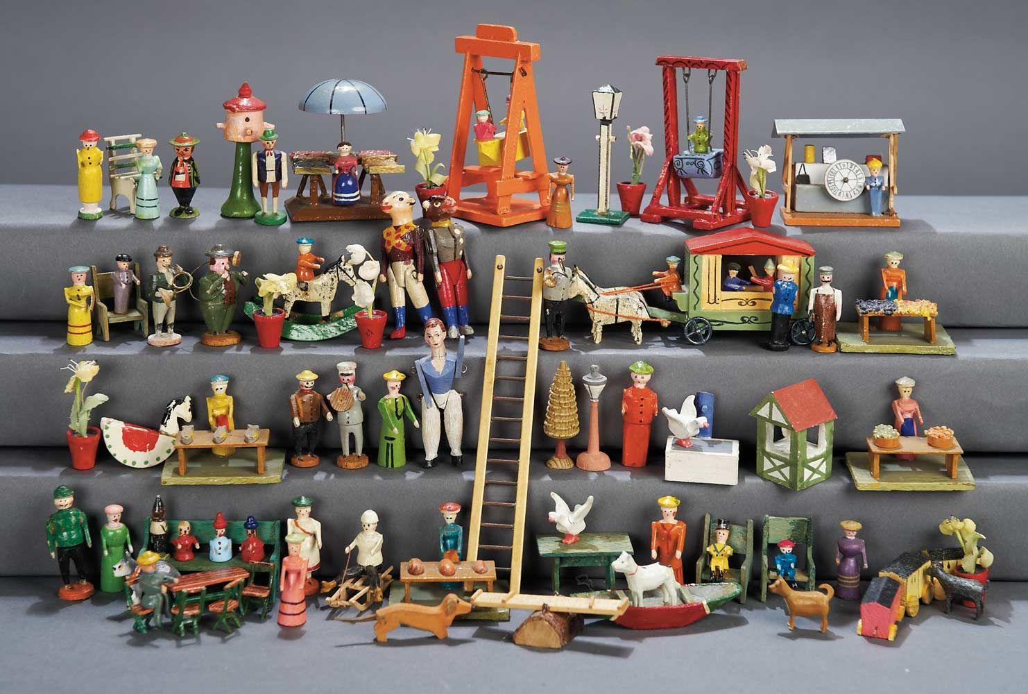 View Catalog Item Theriault S Antique Doll Auctions Antique Dolls Putz Houses Antique Toys