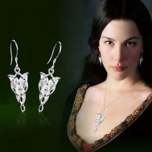 Kolczyki Arweny Wladca Pierscieni Evenstar 5695248128 Oficjalne Archiwum Allegro Earrings Heart Jewelry Jewelry
