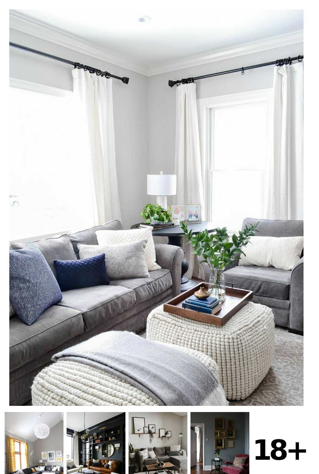 Grey Living Rooms 20 Gorgeous Ideas To Inspire Your Scheme In