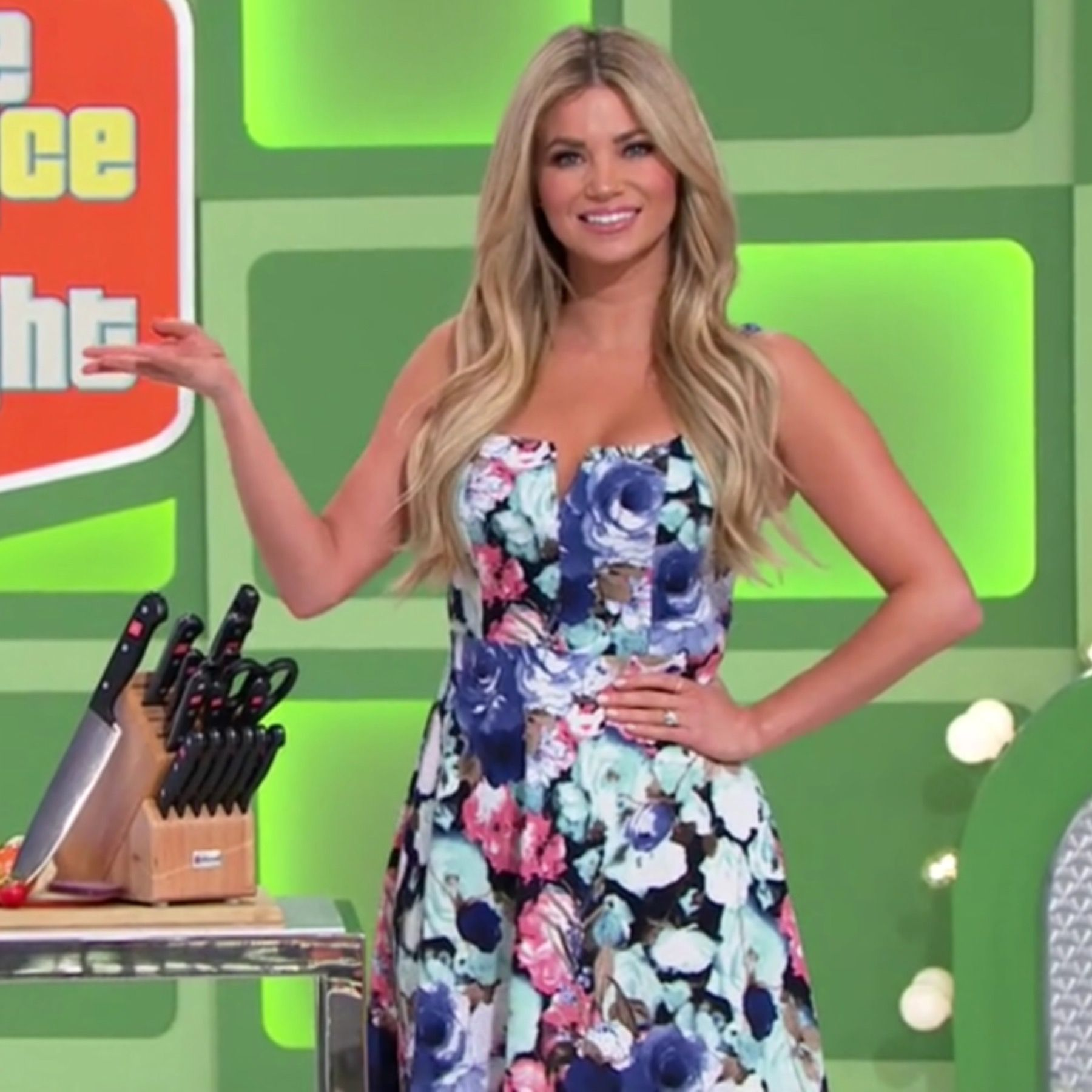 Amber Lancaster From The Price Is Right amber lancaster - the price is right (1/23/2019