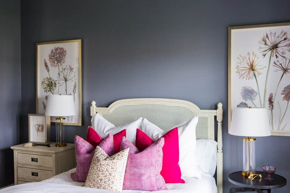 How To Mix Match Nightstands Guest Bedroom Colors Guest