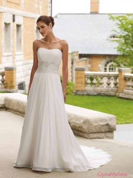 Chiffon Wedding Dresses Under 250 WD 4260 LOVE This