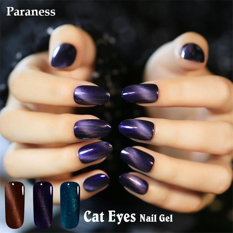 Paraness 8ml lucky Cat Eye Gel Nail Polish UV Lamp Soak off