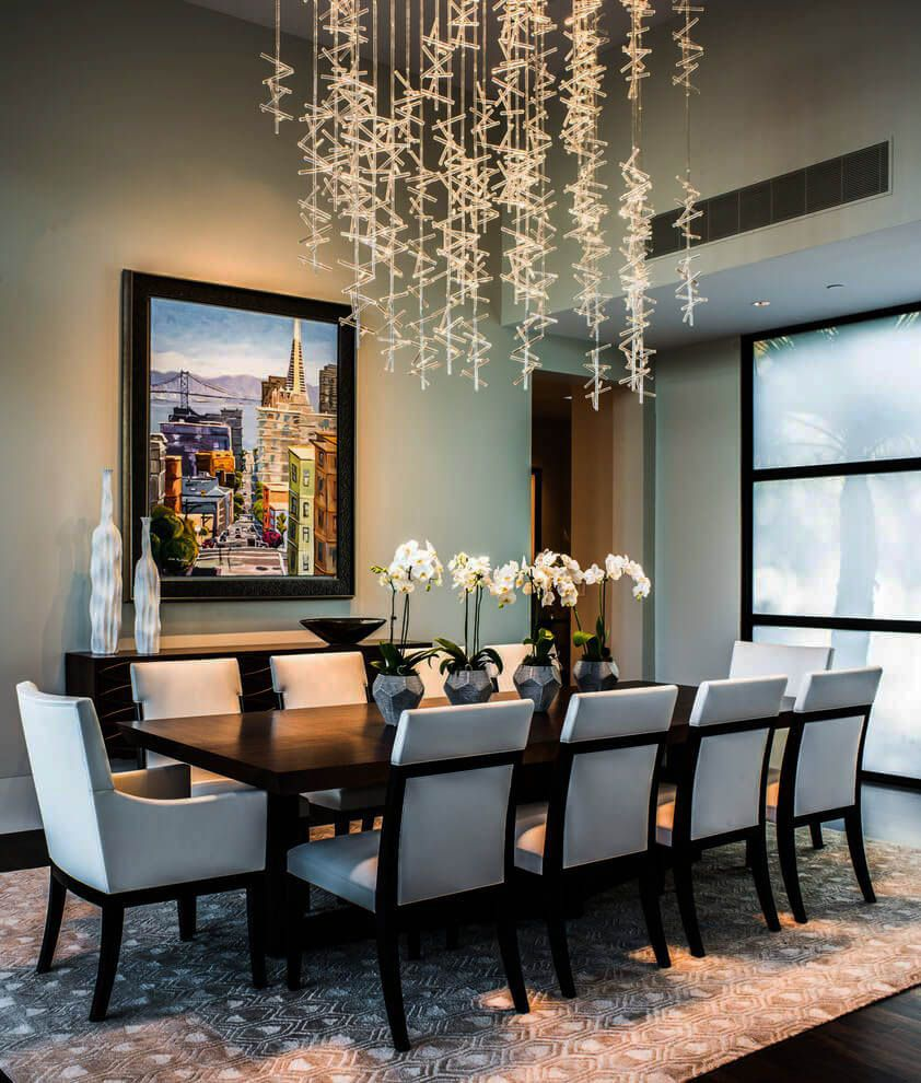 28 Eating Space Lights Ideas For Every Type Zeltahome Com Dining Room Contemporary Contemporary Dining Room Design Contemporary Home Decor