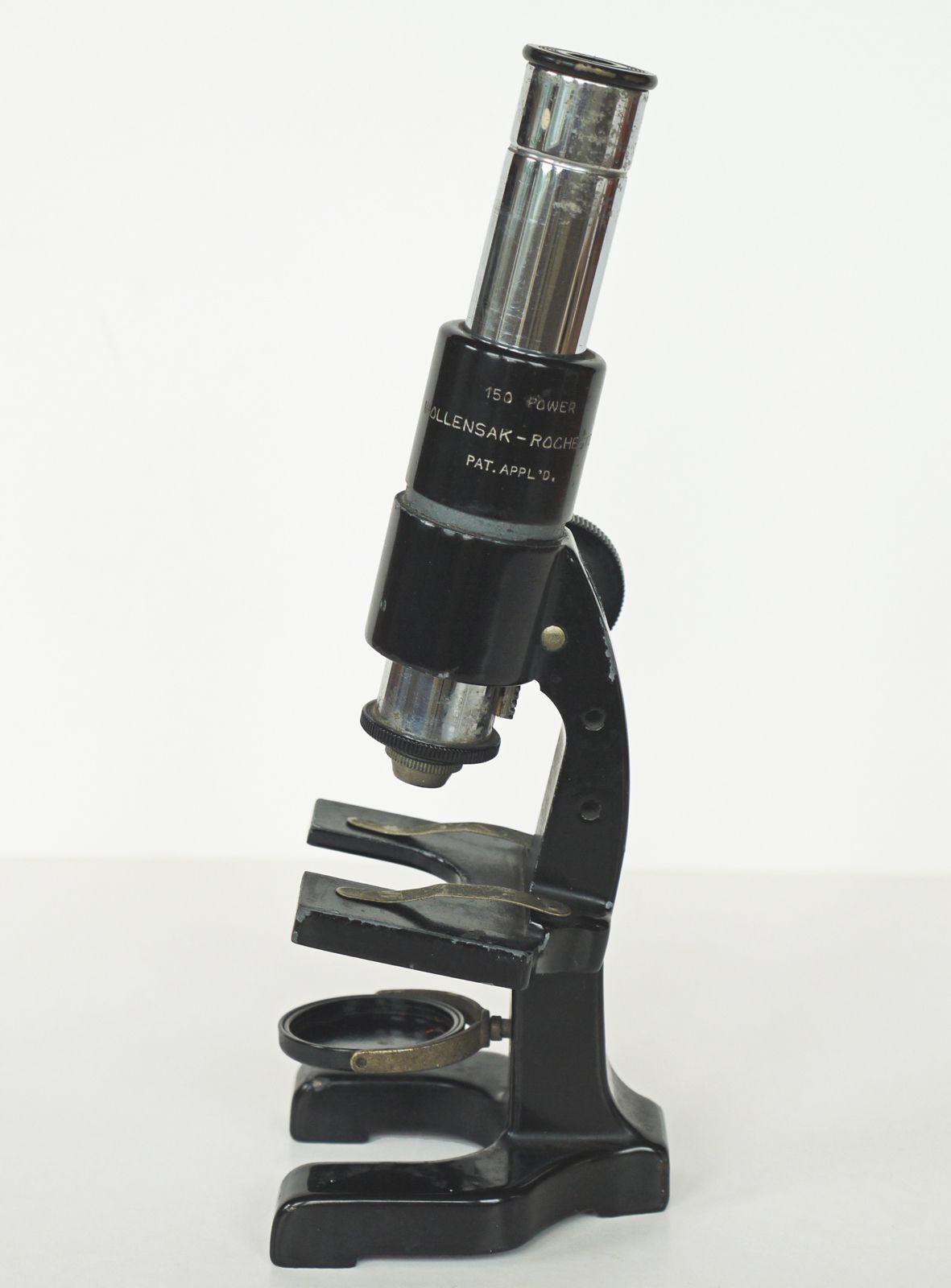 Wollensak – Rochester New York Laboratory Microscope