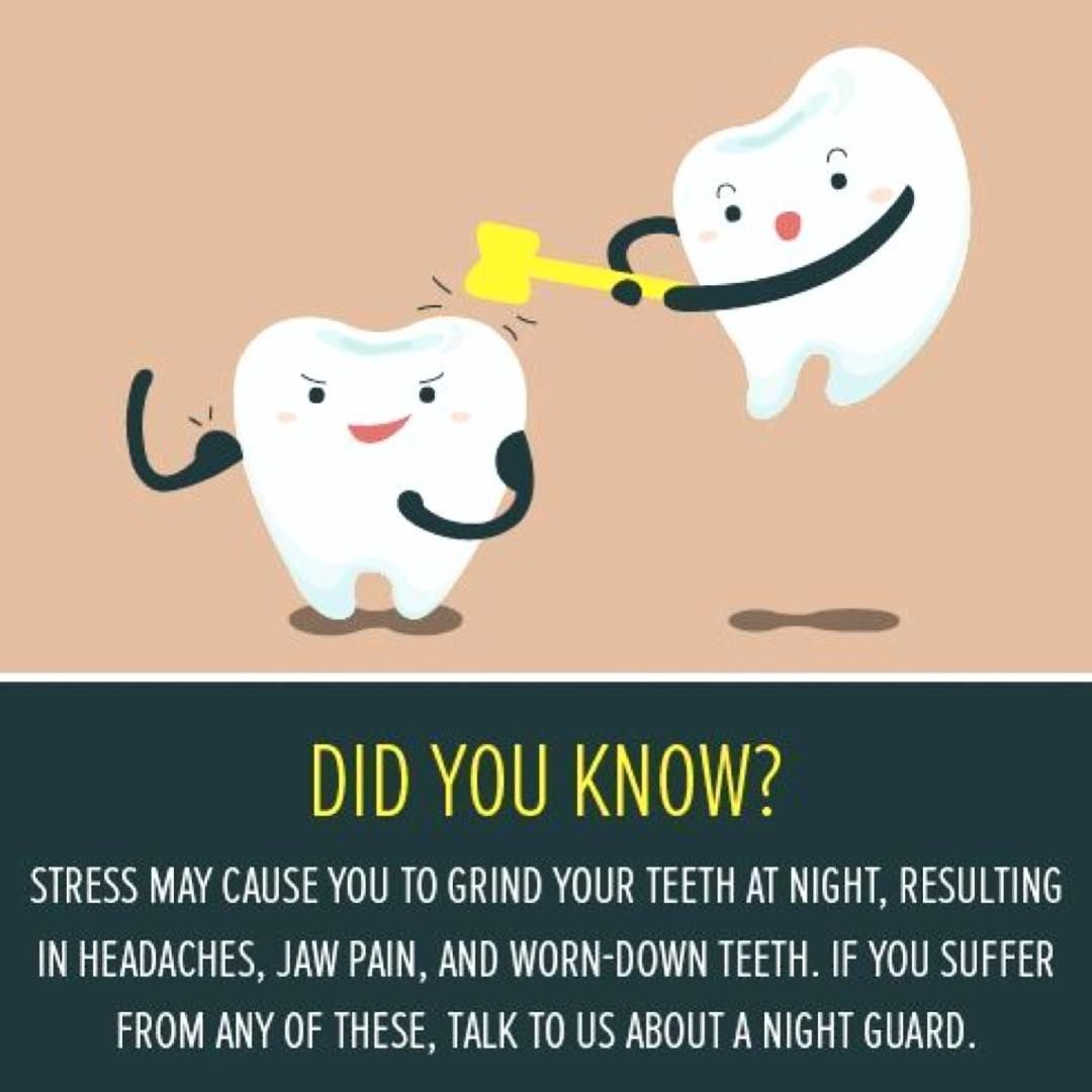 Teeth Are Fun: Stress Grinding Can Do Serious Damage! - Holistic Dentist Paige Woods #dentalfacts