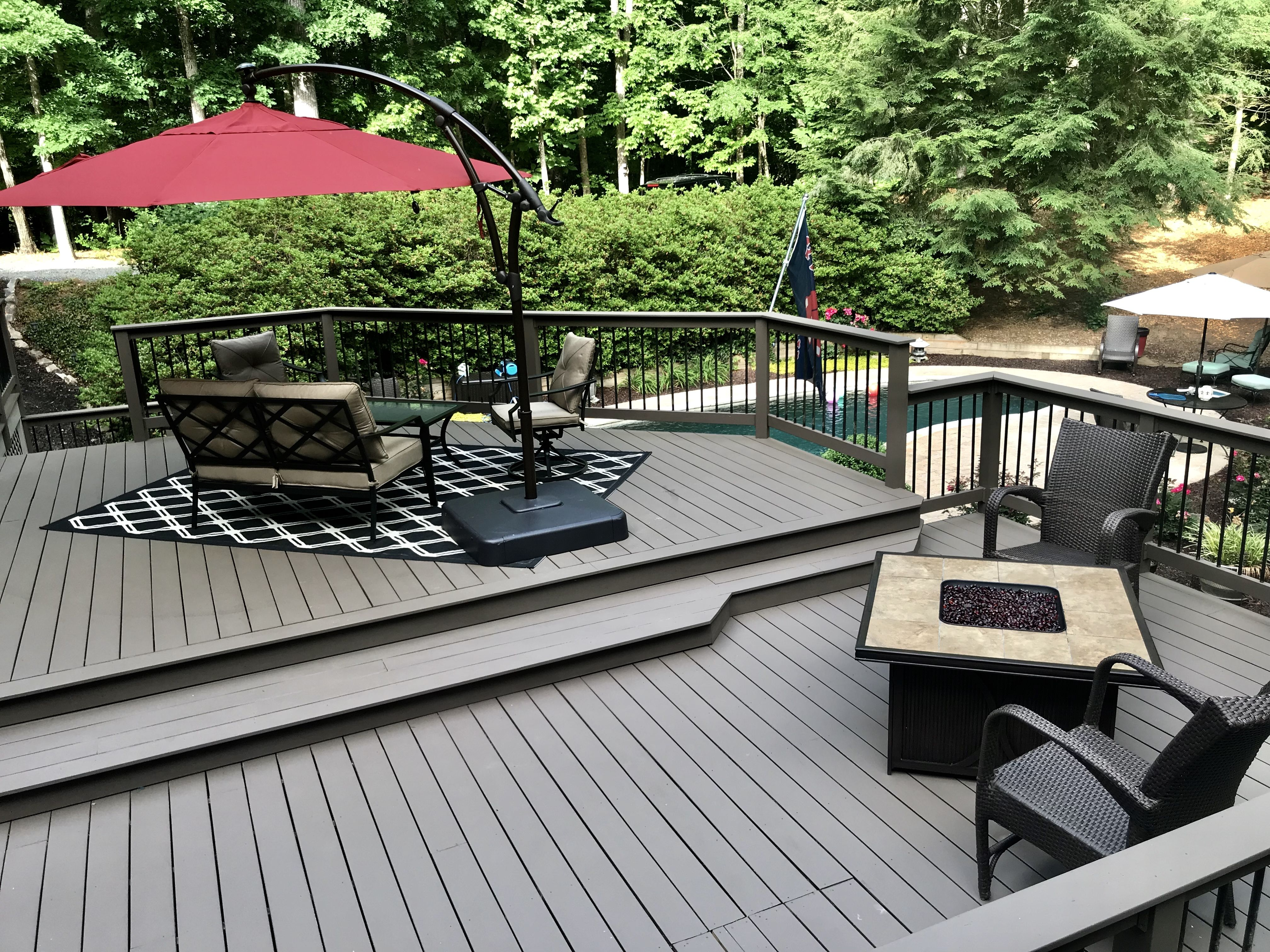 Benjamin Moore Spanish Moss Solid Arborcoat Stain Welcomehome Staining Deck Solid Stain Deck Colors Deck Colors