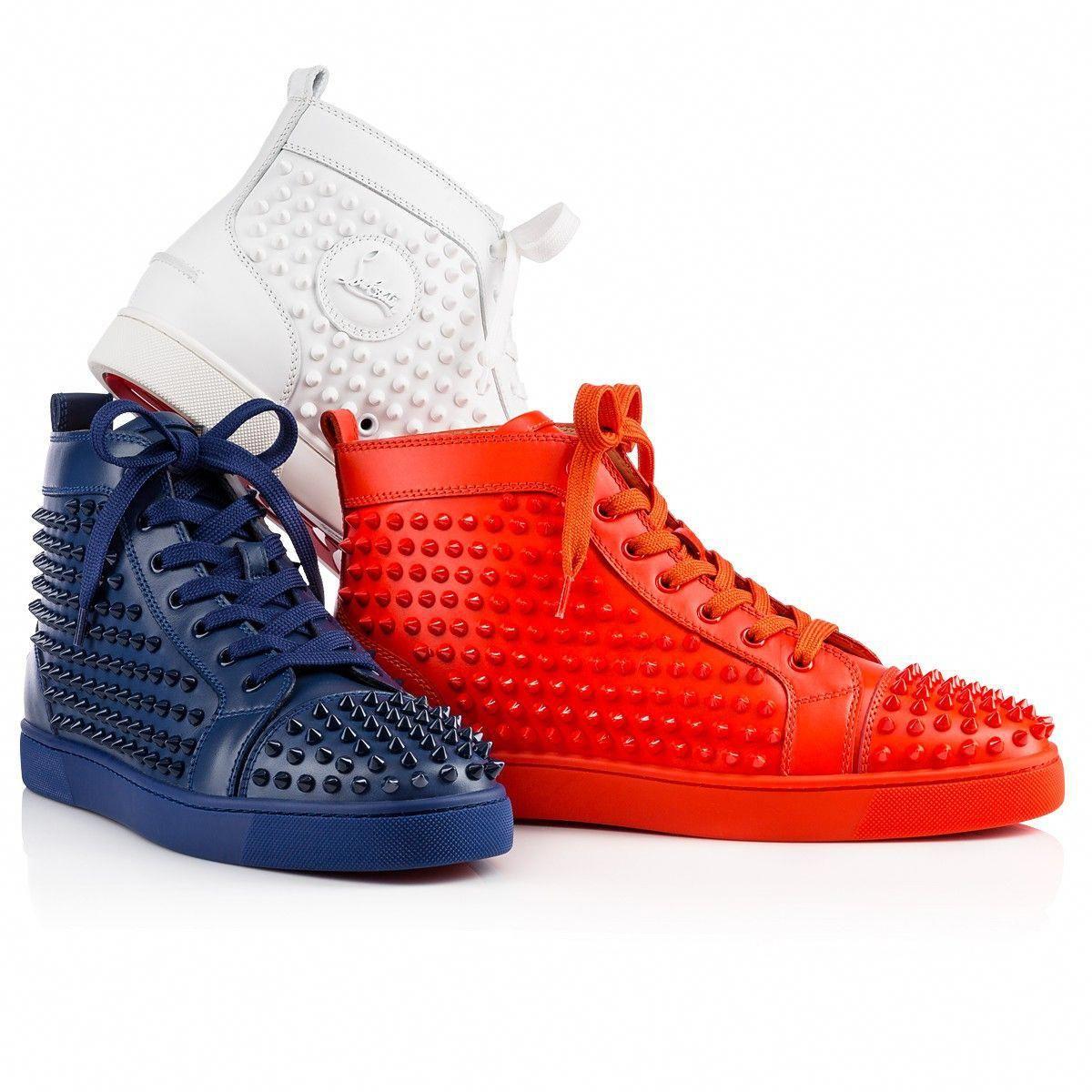 461cf5a719c4 Shoes - Louis Spikes Men s Flat - Christian Louboutin  ChristianLouboutin