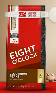 Enter Daily For A Chance To Win 1 Of 80 Free Bag Of Eight O Clock