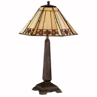 Kenroy Home 33041BRZ Willow Desk Lamp - 33041BRZ