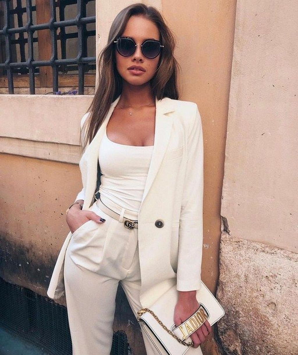 14 Elegant Outfit Ideas For Spring 14  Elegantes outfit
