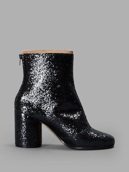 Maison Martin Margiela Glitter Ankle Boots CbxDD3G