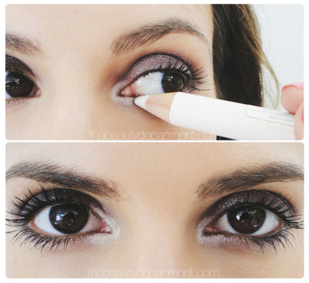 how to use white eyeliner tutorial