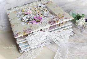 """Свадебный альбом из коллекции """"Цветы Прованса ..."""