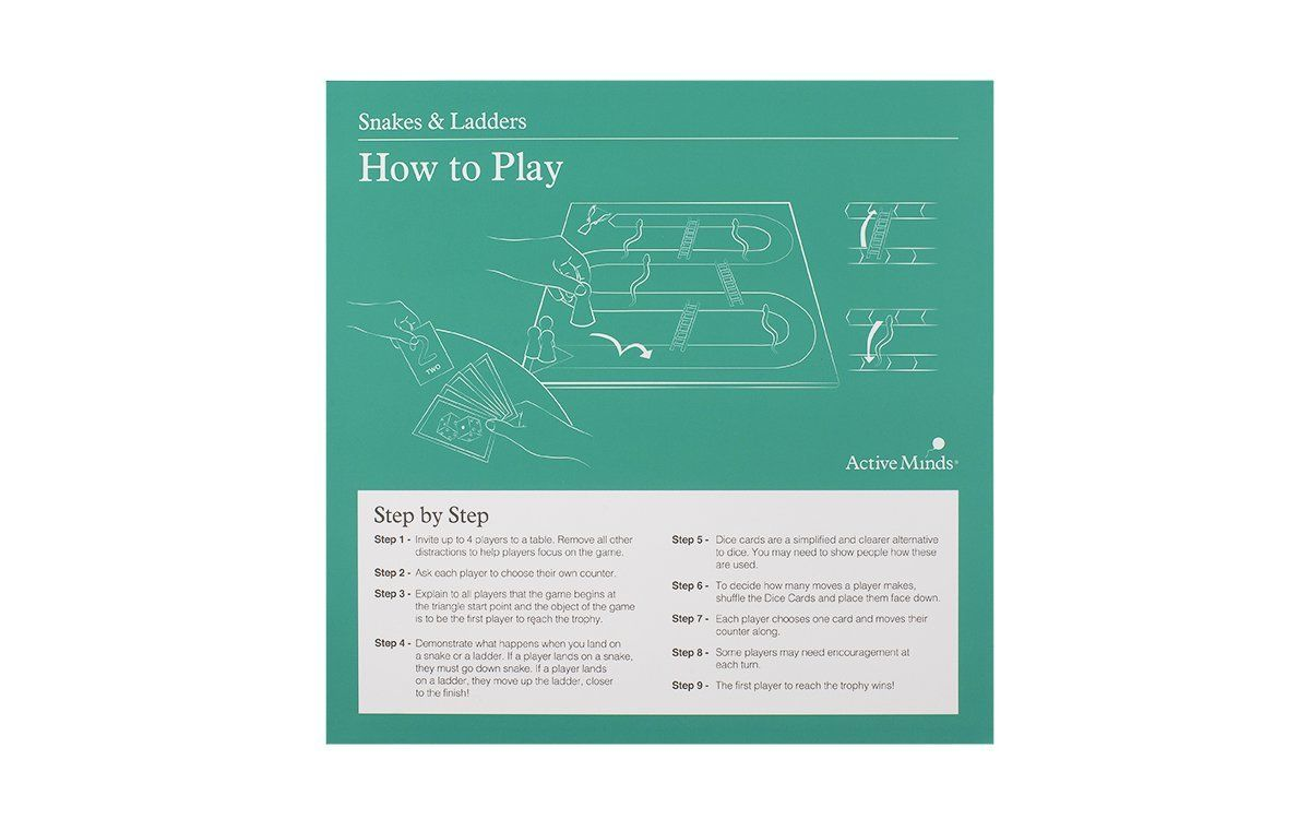 Mental Exercise Game to Help Care for Someone with Dementia It can be difficult at times to spark interest in activities with your loved ones in the mid-late stages of dementia. However no one will be bored with this exciting twist on two of our favourite classic games. This 2 in 1 board game with easy to use modified pieces is the perfect way to engage intergenerational activity and mental stimulation in your loved one with dementia. Grab one for hours of guaranteed fun! Also available VAT free