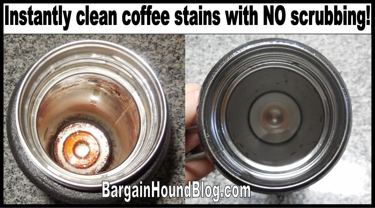 how to get rid of coffee stains