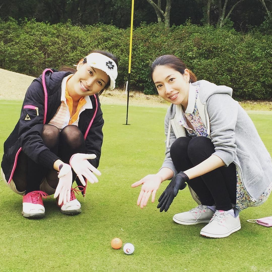 えみちゃんとゴルフ行ってきたよ() #ゴルフ #ボールが同じところに転がったよ #小林恵美 #千葉 by manami84808