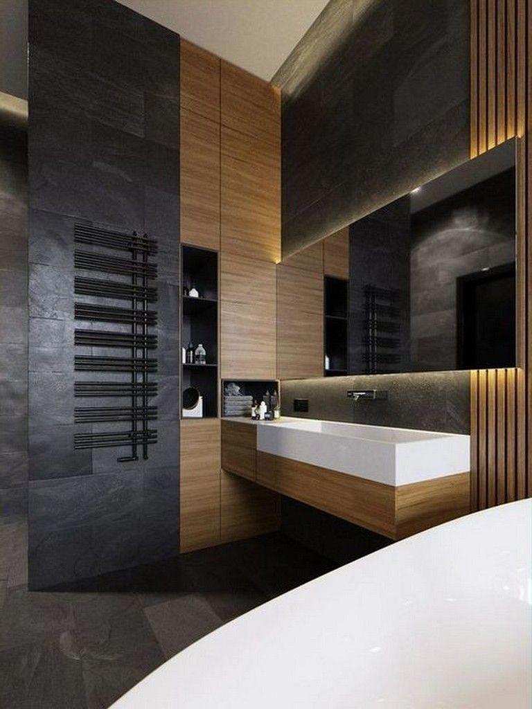26 Awesome Apartment Bathroom Ideas For Men Bathroomideas Bathroomremodel Bathroomdesign Ba Modern Bathroom Top Bathroom Design Apartment Bathroom Design