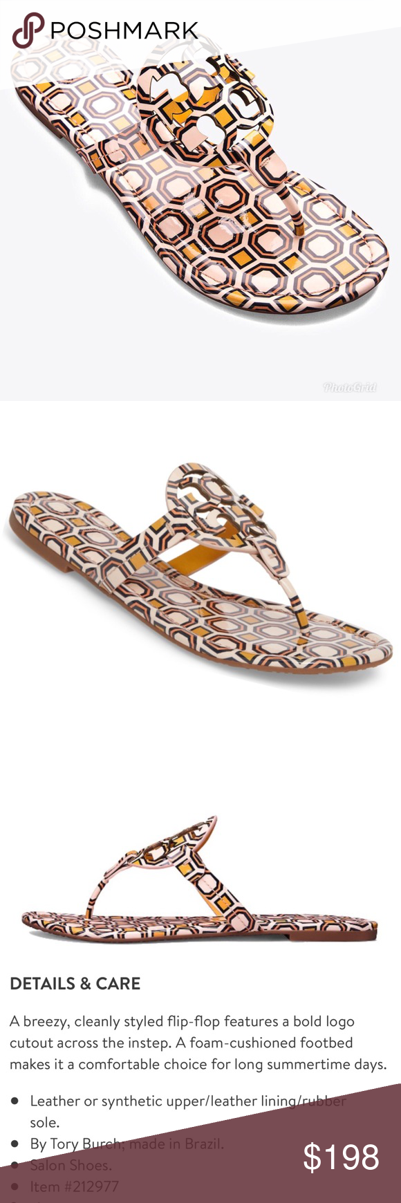 d5a5c443f7834 NWT Tory Burch Miller Flat Sandals NWT Tory Burch Miller Flat Sandals.  Color  Ballet