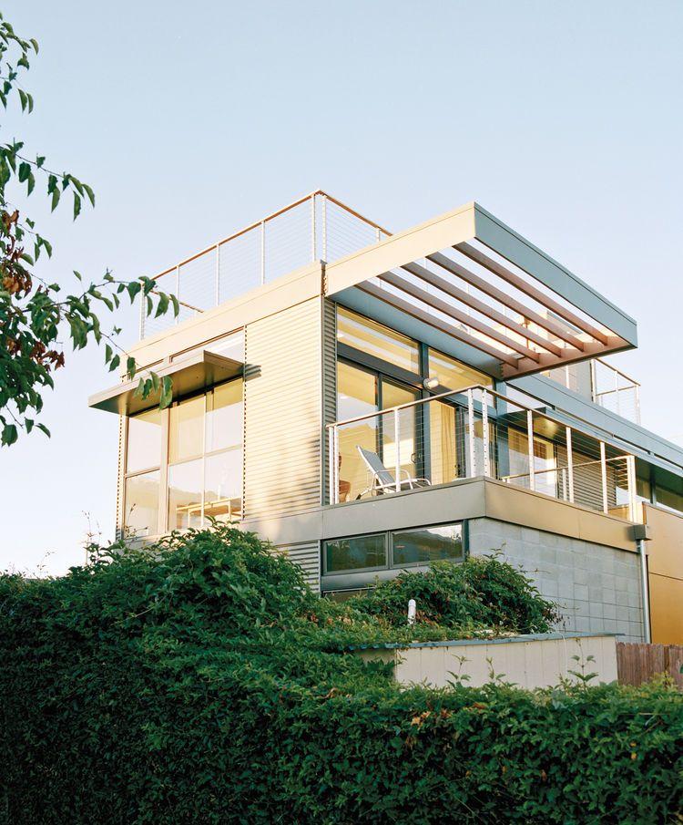 Modern Net Zero Prefab Prototype Home In Emeryville California